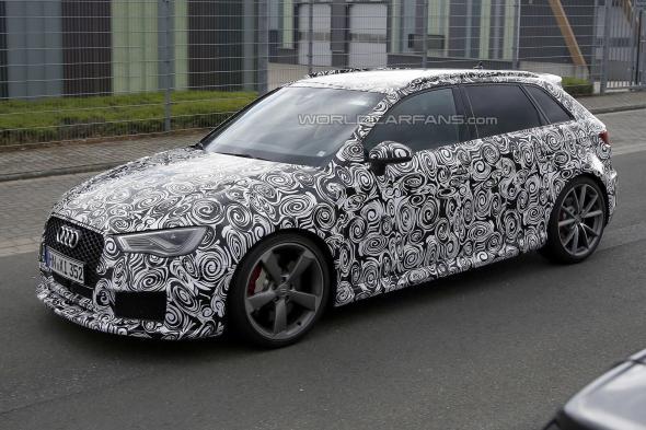 Audi rs3 2015 nuove foto spia svelano dettagli inediti for Audi rs3 scheda tecnica