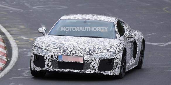 Audi R8 restyiling